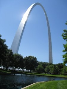 The Gateway Arch, St. Louis, MO