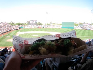 Sausage at Hoho Kam Park, Spring Training home of the Chicago Cubs