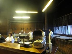 Kreuz Market's BBQ pits