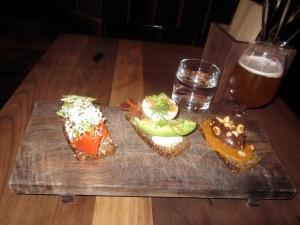Bar Tartine's Smørrebrød