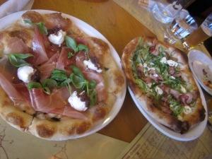 Mozza pizzas