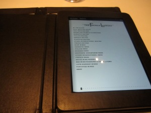 The French Laundry Is Now Part of the iPad Wine List Generation