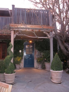 (Actual) Entrance to The French Laundry