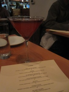 Brix Layer: Buffalo Trace Bourbon, House Sour, Cherry, Orange, Angostura Aromatic Bitters, Cabernet Sauvignon
