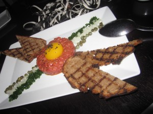 American Wagyu Beef Tartare, Traditional Accompaniments