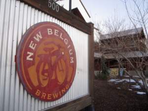 New Belgium? Makes complete sense.