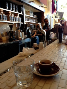 Caffé Calabria's espresso and pizza bar