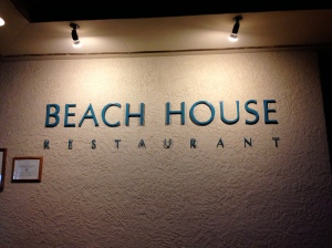 Beach House Restaurant in Poipu, Kauai. A very simple name.