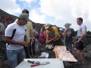 Volcanic Pizza