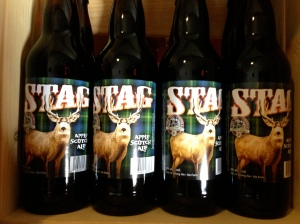 "Avoid Tin Whistle's ""Stag"" Apple-Scotch Ale. Rough. This must be the official beer of my college (lots of rough nights and the mascot was the Stags)."