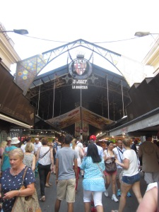 The Boqueria Market, Barcelona's central food hall