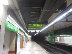 A rare efficient public transportation system