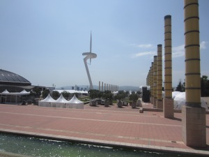 Calatrava's TV Tower, the symbol of the 1992 Olympics