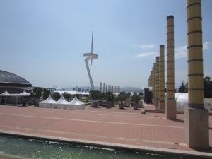 Calatrava's TV Tower, the symbol of the 1992 Olympics