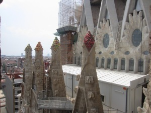 The Sagrada Familia is still under construction...