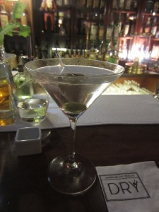A Dry Martini at Dry Martini