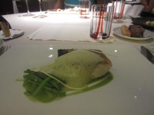 Sea bass with truffles and artichoke. Help me find the truffle flavor and artichoke flavor.