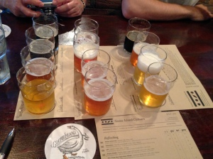 Goose Island tasting session