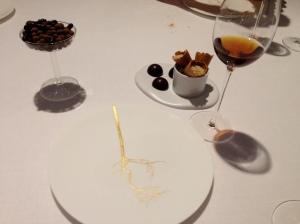 Closing chocolate selection