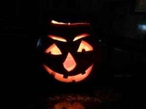 Harvey, my Halloween 2013 pumpkin