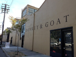 Donkey & Goat's Winery in Berkeley, CA