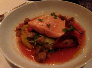 Jean Georges' Arctic Char with Crushed Tomatoes